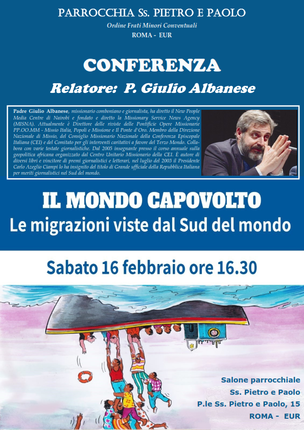 Locandina Conferenza di Padre Giulio Albanese_001
