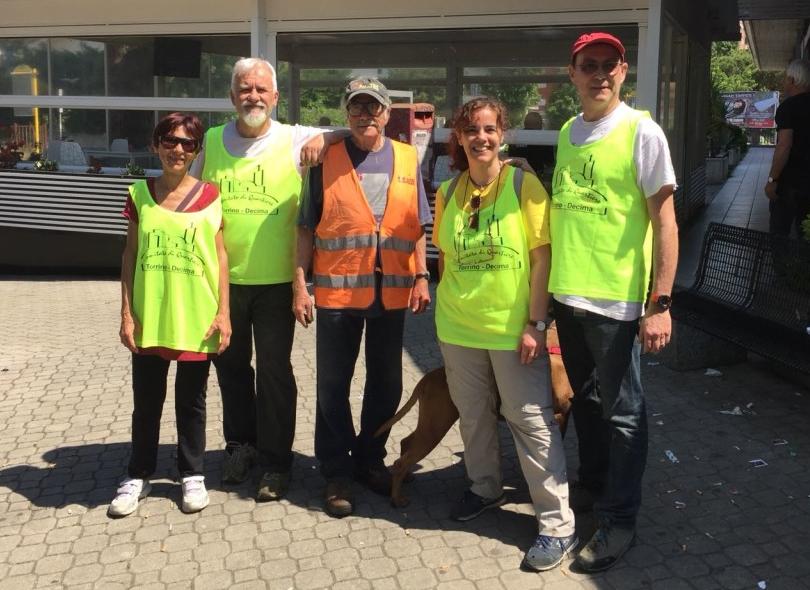 volontari del verde